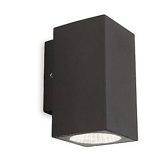 Firstlight-LED 1 lys enkelt udendørs væg lys grafit IP65-7675GP