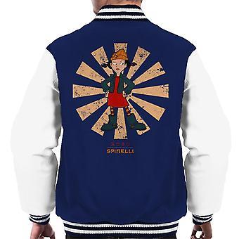 Spinelli Retro Japanese Recess Men's Varsity Jacket