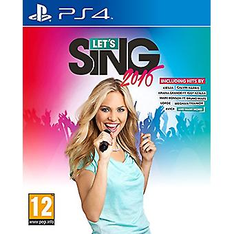 Koch Media Lets Sing 2016 PS4 - video games (PlayStation 4  Physical media  Music  Voxler Games  2 - New
