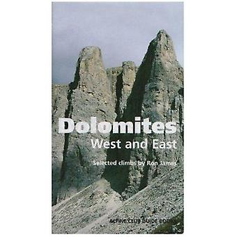 Dolomites - West and East - Alpine Club Climbing Guidebook (New editio