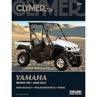 Clymer Yamaha Rhino 700 2008-2012 by Ron Wright - 9781599695419 Book