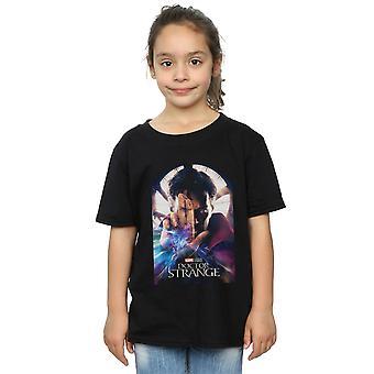 Marvel Studios Girls Doctor Strange cartel camiseta