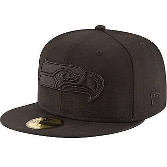 ニューエラ 59フィフティ キャップ - NFL ブラック シアトル シーホークス