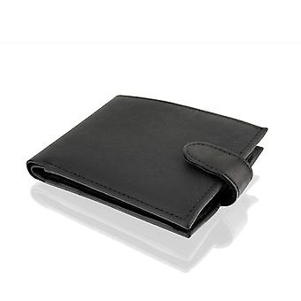 "Cadena 4,5 ""RFID multi Pocket Wallet-negro"