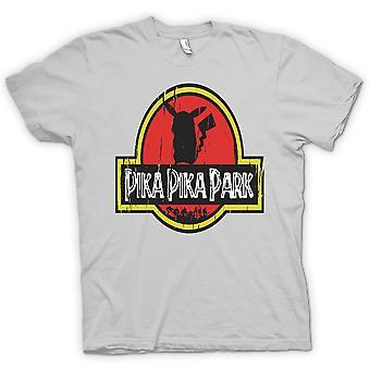 Womens T-shirt - Pika Pika Park - Pokemon Pikachu inspiriert