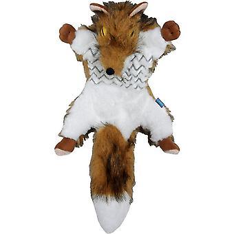 Hemm & Boo Country Fox Road Kill Dog Toy