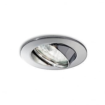 Ideal Lux Swing Recessed Spotlight Chrome