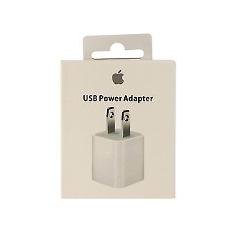 Original Apple 5W USB Power Adaptor pour iPhone 8/7/6 iPad Mini 2,3,4 (MD810LL/A)