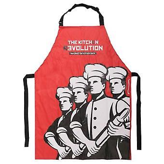Bigbuy rivoluzione grembiule (cucina, accessori per la cucina)