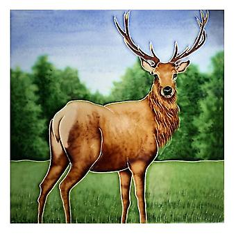 Stag Tile Trivet by Milford Collection
