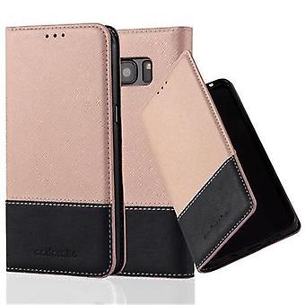 Cadorabo Hülle für Samsung Galaxy S7 EDGE Case Cover - Handyhülle mit Magnetverschluss, Standfunktion und Kartenfach – Case Cover Schutzhülle Etui Tasche Book Klapp Style