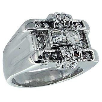 Ring Cz Silver Diamond Empire