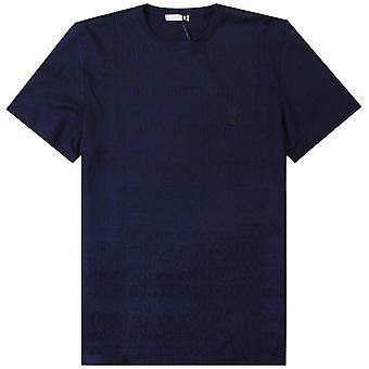 Versace Collection Scattered Logo Print T-Shirt