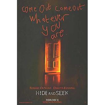 Hide And Seek (2005) Original Kino Poster