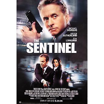 Der Sentinel (einseitiges Video) Original Video/Dvd Ad Poster