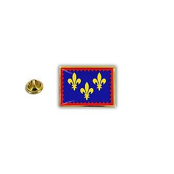 Pine PineS rinta nappi PIN-apos; s metalli epoksi kanssa Papillon Papillon Flag Ranska Marja