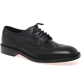 Loake Chester Leather Brogue Shoes