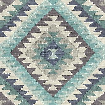 Barbara Home Kilim Style Aztec Wallpaper Rasch