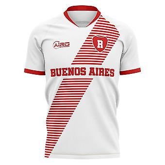 2020-2021 River Plate Home Concept Football Shirt - Manica lunga per adulti
