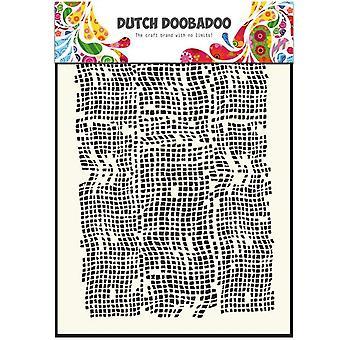 Dutch Doobadoo Burlap A5 Stencil Mask 470.715.006