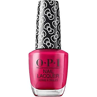 OPI Hello Kitty 2019 Christmas Nail polsk samling alle om buer (HRL04) 15ml