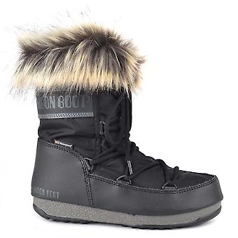 Moon Boot Monaco Low Black Wp 2 Boot