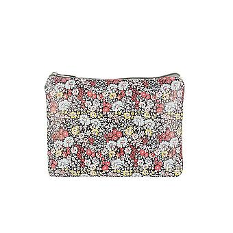 Jewelcity Womens/dames Ditsy Doris Floral grote platte make-up tas
