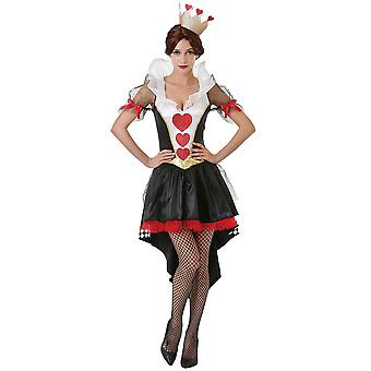 Queen of Hearts Costume, S
