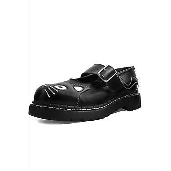 TUK Shoes Black TUKskin™ Kitty Mary Jane