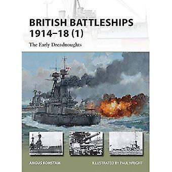 Britse slagschepen 1914-18 (1): de vroege Dreadnoughts
