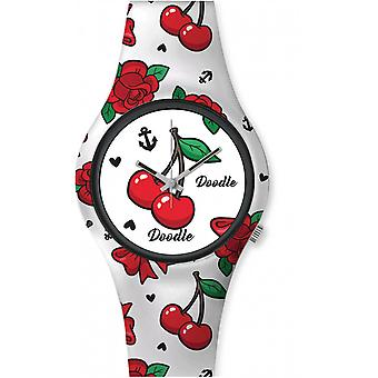 Watch Doodle AMERICANS MOOD DO35002 - cherry 35mm male/female