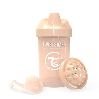 Twistshake Drinking Cup - Crawler Cup 300Ml Pastel Beige