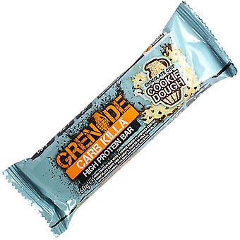 Grenade 60g Chocolate Chip Cookie Dough Carb Killa Protein Bar x 6