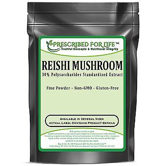 Seta Reishi - 30% Polisacáridos - 30% Extracto de Polvo de Frutas Naturales