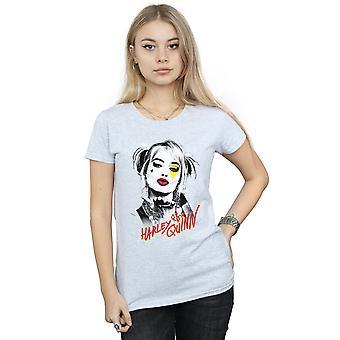DC Comics Women's Birds Of Prey Harley Quinn Kiss T-Shirt