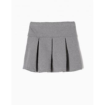 Zippy Skirt Jersey Med Gr Mel