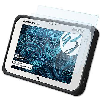 Bruni 2x Protetor de tela compatível com Panasonic ToughPad FZ-M1 / FZ-B2 Protective Film
