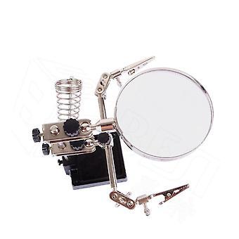 BEST Förstoringsglas 5X ställ för elektronikfixaren med klämmor