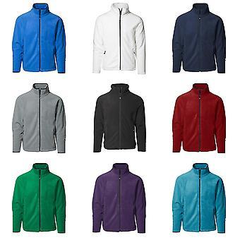 ID miesten microfleece säännöllinen sovitus Full Zip takki