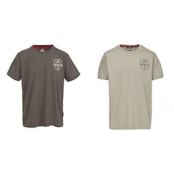 Hausfriedensbruch Mens Rawhider leger Kurzarm T-Shirt