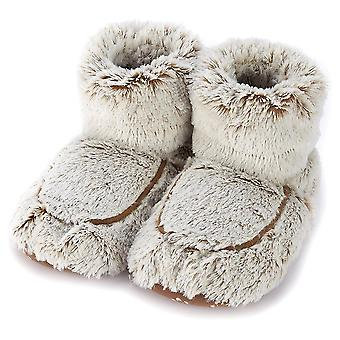 Warmies Beige Marshmallow Boots