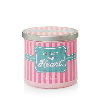 Yankee Candle Sentiments You Warm My Heart Pink Sands Tumbler