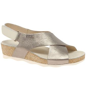 Pikolinos Castell Womens Wedge Heel Sandals