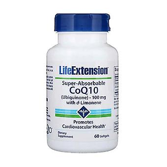 Life Extension Coq10 100Mg 60 Gels Coenzyme