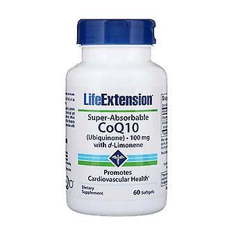 Prolongation de la durée de vie utile Coq10 100Mg 60 Gels Coenzyme