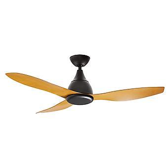 """DC ceiling fan Vantage Black 132cm / 52"""""""