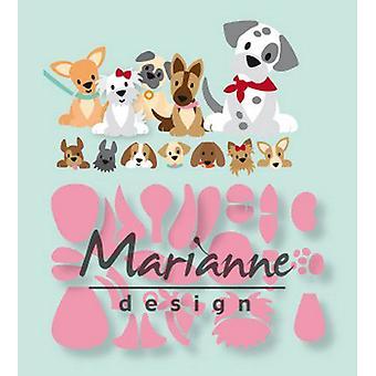 Marianne Design Collectables Skæring Dies - Eline's Hvalp COL1464