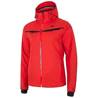 4F KUMN007 H4Z19KUMN007CZERWONY universal winter men jackets