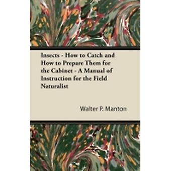 Insects  How to Catch and How to Prepare Them for the Cabinet  A Manual of Instruction for the Field Naturalist by Manton & Walter P.