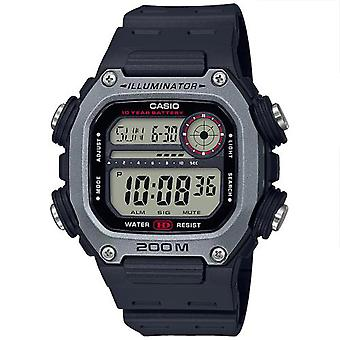 Casio Collection Quarz Digital LCD Zifferblatt schwarz Harz Strap Men's Uhr DW-291H-1AVEF